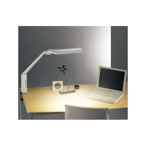 ツインバード工業 LEDクランプ式デスクライト (ホワイト) LE-H635W