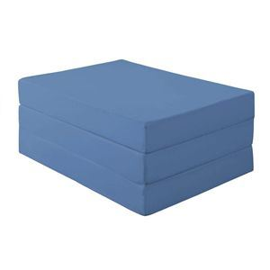 【初回限定】 マットレス シングル 厚さ12cm アースブルー アースブルー マットレス 新20色 厚さが選べるバランス三つ折りマットレス 新20色【代引不可】, 総社市:1222711a --- tonewind.xyz
