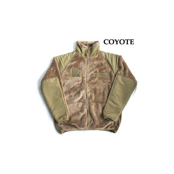アメリカ軍 ECWC S Gen3 両面フリースジャケット 【 Sサイズ 】 サイドリブ仕様 JJ150YN コヨーテ 【 レプリカ 】