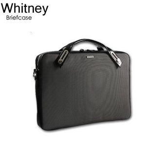 B6407G★ユニセックス仕様PC対応ブリーフケース ホイットニー(Whitney) グレー