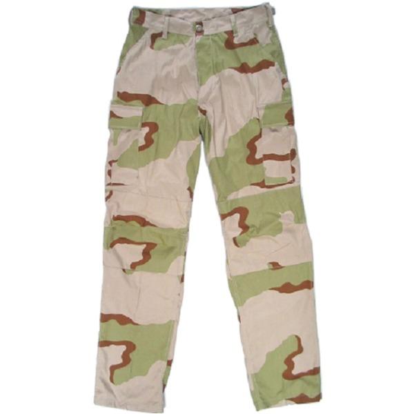 アメリカ軍 BDU カーゴパンツ /迷彩服パンツ  リップストップ YN521007 3カラーデザート
