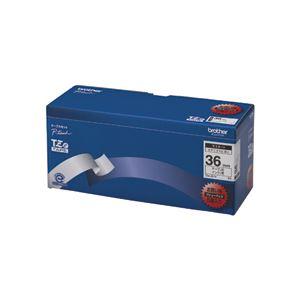 ブラザー BROTHER ピータッチ TZeテープ ラミネートテープ 36mm 白/黒文字 業務用パック TZE-261V 1パック(5個)
