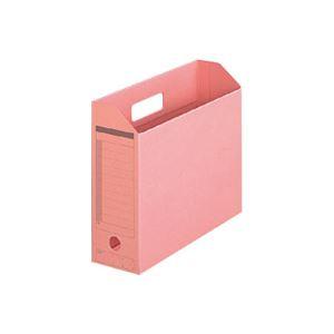 (業務用100セット) プラス ボックスファイル FL-051BF A4E ピンク