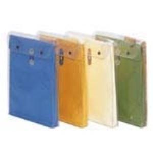 (業務用100セット) うずまき ビニールパッカー(書類保存封筒) ニ-302 角2 金茶