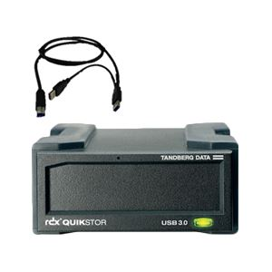 Tandberg Data RDX QuikStor(バスパワーUSB3.0外付ドッキングステーション) 8782