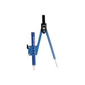 (業務用100セット) ソニック スーパーコンパス EC-400 鉛筆用 紺