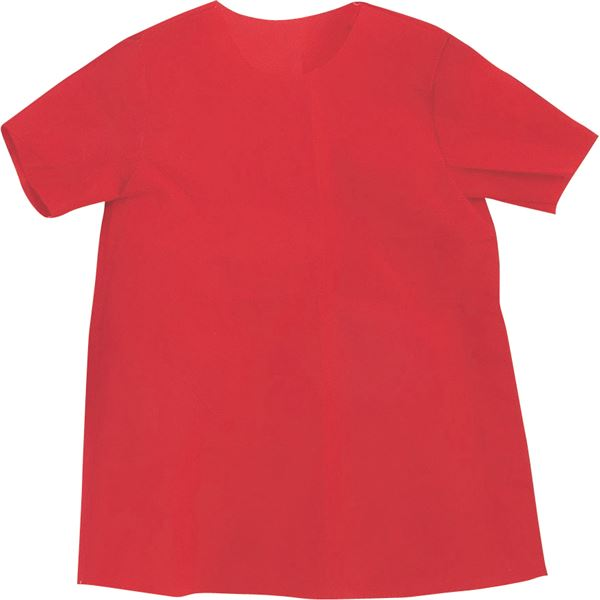(まとめ)アーテック 衣装ベース 【S シャツ】 不織布 レッド(赤) 【×30セット】