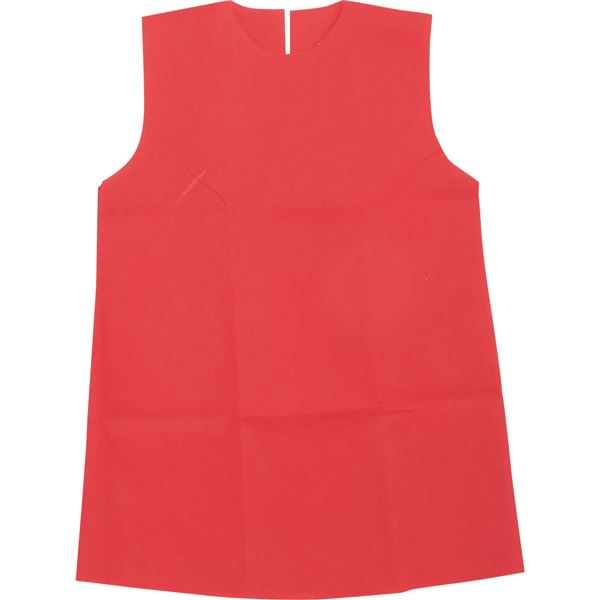 (まとめ)アーテック 衣装ベース 【S ワンピース】 不織布 レッド(赤) 【×30セット】