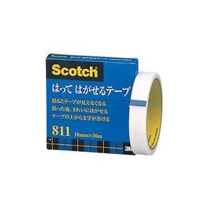 (業務用100セット) スリーエム 3M メンディングテープ 811-3-18 18mm×30m