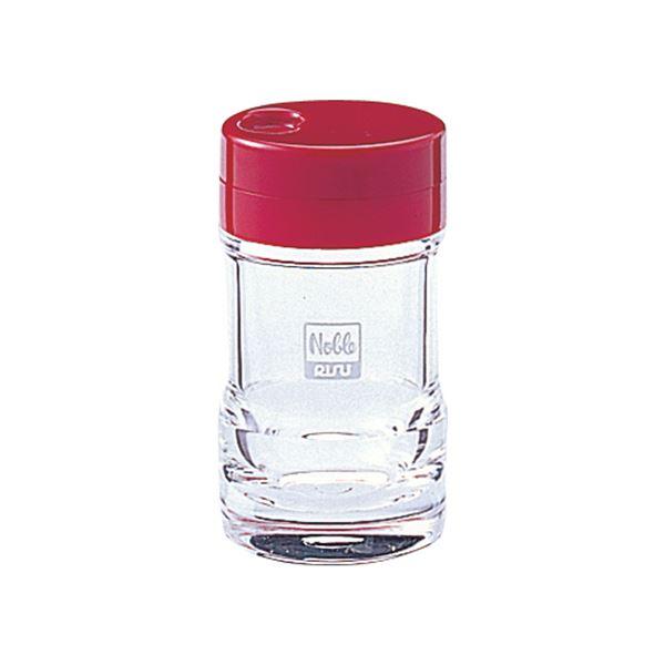 【50セット】 塩コショウ入れ/調味料入れ 【レッド】 5.2×9.6cm 『ノーブル』【代引不可】