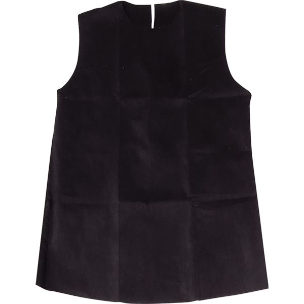 (まとめ)アーテック 衣装ベース 【S ワンピース】 不織布 ブラック(黒) 【×30セット】