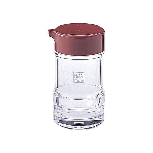 【60セット】 醤油差し/しょうゆ容器 【ブラウン】 6.1×11.3cm 『ノーブル』【代引不可】
