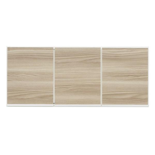 上置き(ダイニングボード/レンジボード用戸棚) 幅100cm 日本製 ブラウン 【完成品】【玄関渡し】【代引不可】
