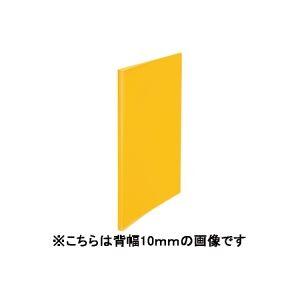 (業務用200セット) プラス シンプルクリアファイル 【A4】 10ポケット タテ入れ FC-210SC 橙