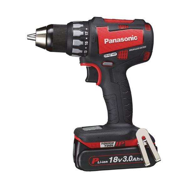 Panasonic(パナソニック) EZ74A2PN2G-R 18V3.0Ah充電ドリルドライバー(赤)