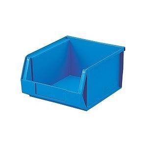 【20セット】 ホームコンテナー/コンテナボックス 【HN-3】 ブルー 材質:PP 〔汎用 道具箱 DIY用品 工具箱〕【代引不可】