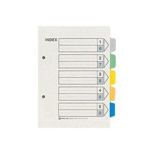 (業務用50セット) キングジム カラーインデックス/ファイル用仕切り 【A5/2穴 タテ型】 1パック10組入り 903