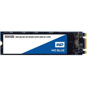 WESTERN DIGITAL(SSD) WD Blue 3D NANDシリーズ SSD 500GB SATA 6Gb/s M.2 2280国内正規代理店品