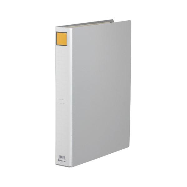(まとめ) キングファイルG A3タテ 400枚収容 背幅56mm グレー 1004S 1冊 【×10セット】
