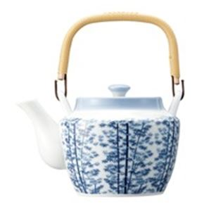 (業務用10セット) ピーアンドエス 8号土瓶 竹林 茶こし網付 10311