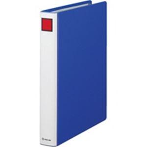 (業務用5セット) キングジム Sドッチファイル 1473 A4S 30mm 青 10冊