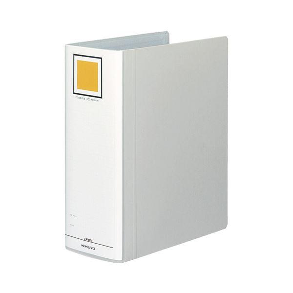 (まとめ) コクヨ チューブファイル(エコツインR) A4タテ 1000枚収容 背幅115mm シルバー フ-RT6100C 1冊 【×10セット】