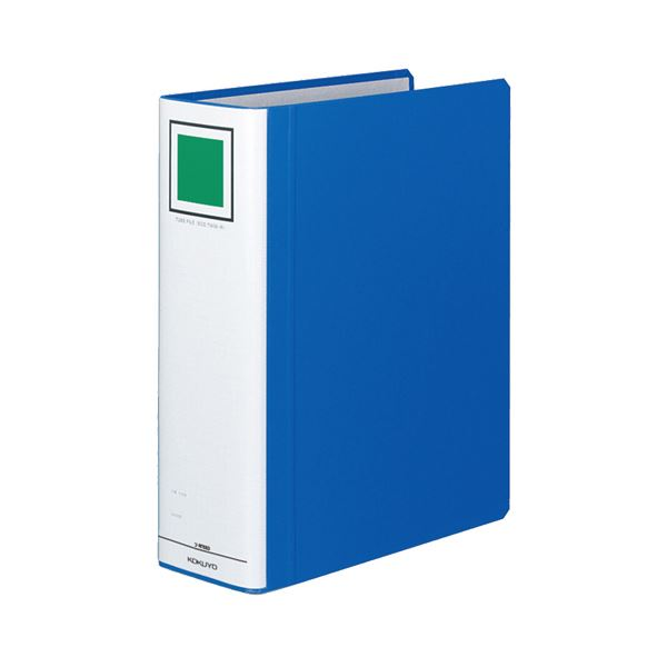 (まとめ) コクヨ チューブファイル(エコツインR) A4タテ 800枚収容 背幅95mm 青 フ-RT680B 1冊 【×10セット】