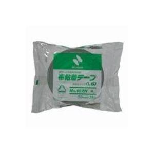 (業務用100セット) ニチバン カラー布テープ 102N-50 50mm×25m 緑