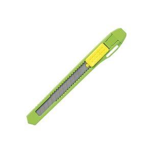 (業務用300セット) プラス カッターナイフS CU-103 グリーン