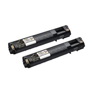 エプソン LP-S5300/M5300用トナーカートリッジ/ブラック/Mサイズ2個パック(6200ページ×2) LPC3T21KP