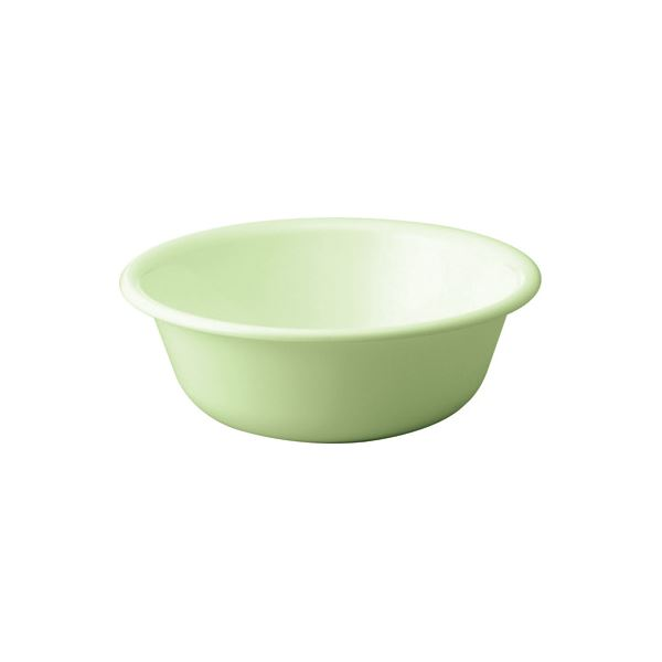 【50セット】 シンプル 風呂桶/湯桶 【パステルグリーン】 27×9.5cm 材質:PP 『HOME&HOME』【代引不可】