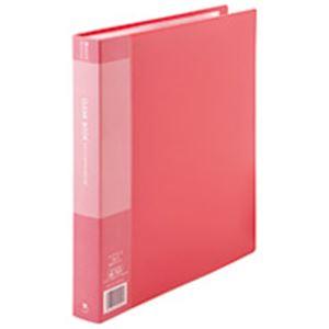 (業務用5セット) ジョインテックス クリアファイル/ポケットファイル 【A4/タテ型 10冊入り】 60ポケット 赤 D049J-10RD