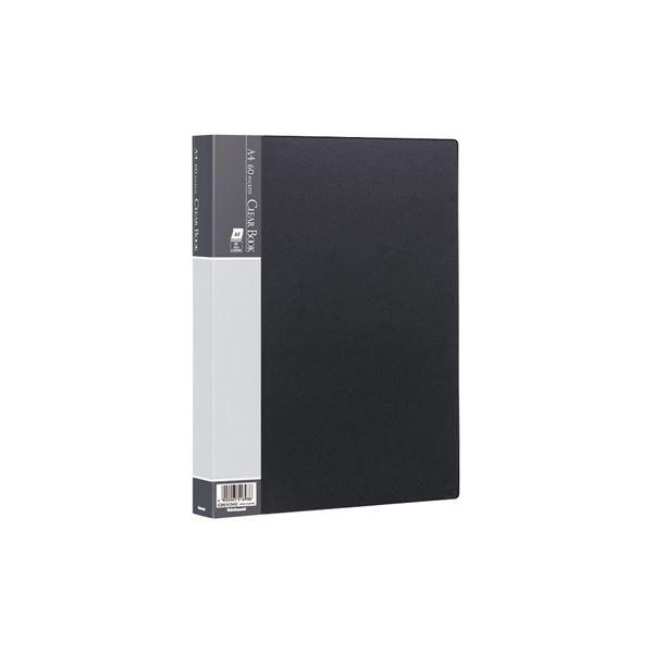 (業務用セット) クリアブックE/ベーシックカラー A4 60P CBE-1034D ブラック【×10セット】