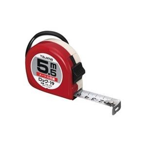(業務用20セット) TJMデザイン ロック式巻尺 L19-55BL 5.5m