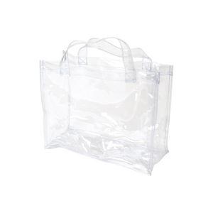 (業務用100セット) OCSコーポレーション 透明手提バッグ A4 OCS-3225135 1枚