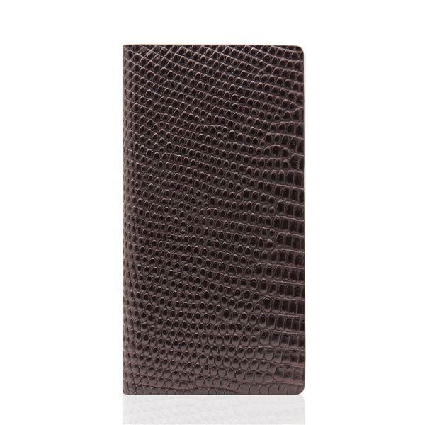 SLG Design iPhone6/6S Lizard Case ブラウン
