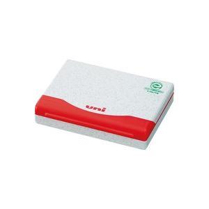 (業務用100セット) 三菱鉛筆 スタンプ台1号 HSP1F.15 赤