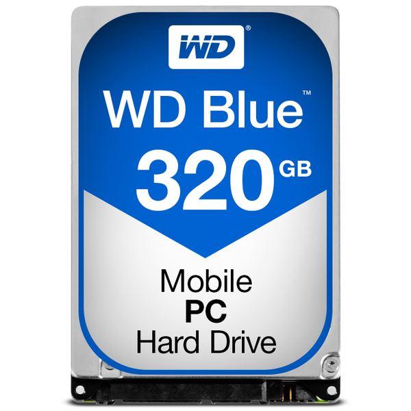 WESTERN DIGITAL WD Blueシリーズ 2.5インチ内蔵HDD 320GB SATA 5400rpm7mm厚 WD3200LPCX