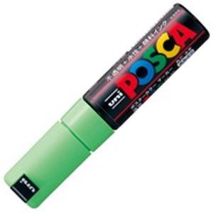 (業務用200セット) 三菱鉛筆 ポスカ/POP用マーカー 【太字/黄緑】 水性インク PC-8K.5