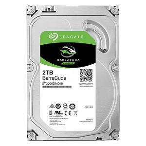 Seagate Guardian Barracudaシリーズ 3.5インチ内蔵HDD 2TB SATA6.0Gb/s7200rpm 256MB