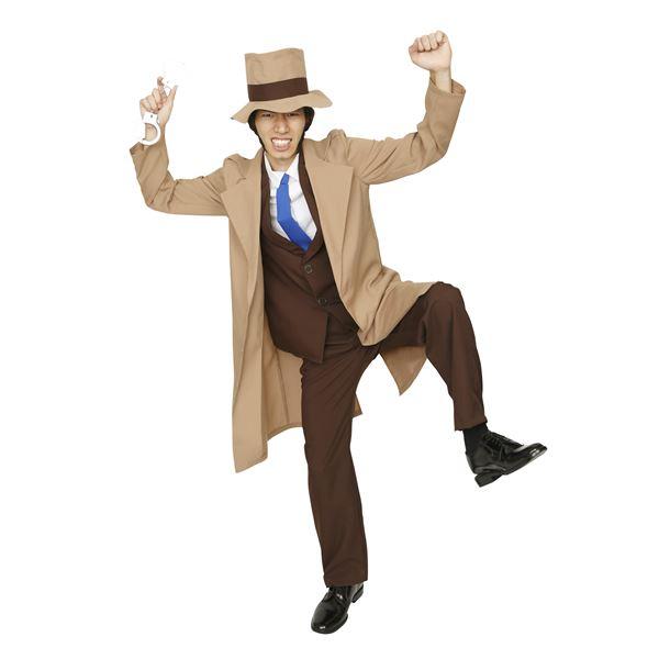 コスプレ衣装/コスチューム 【ライバル警部】 メンズ180cm迄 ポリエステル 『大泥棒シリーズ』 〔イベント〕