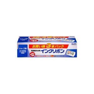 (業務用30セット) 朝日電器 ELPA 普通紙FAXリボン FIR-SR8-3P 3本