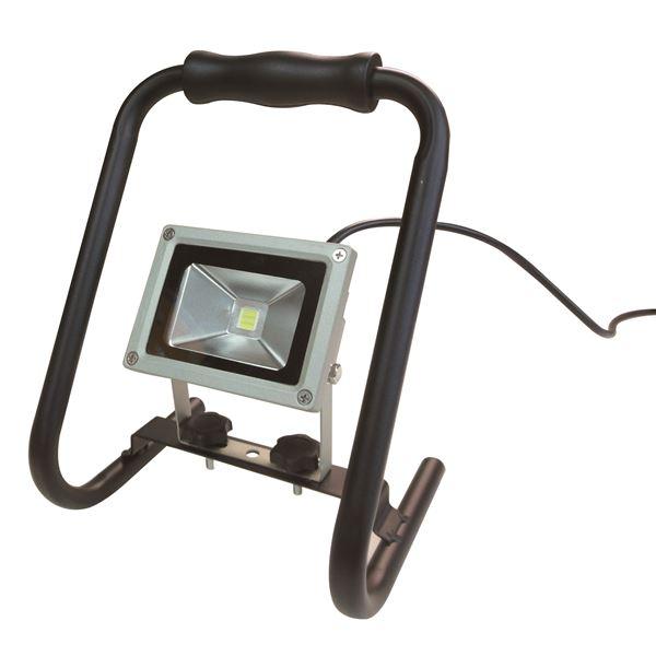 (業務用10個セット) trad LED投光器 防水/屋外用/省エネ/長寿命 SLW-10W AC100