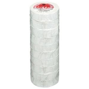 (業務用50セット) ヤマト ビニールテープ/粘着テープ 【19mm×10m/白】 10巻入り NO200-19 ×50セット