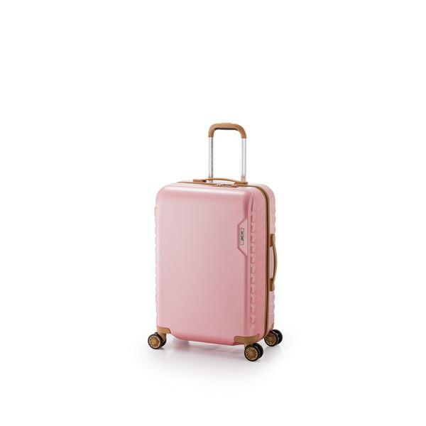 スーツケース/キャリーバッグ 【ピンク】 29L 機内持ち込み可能サイズ ダイヤル式 アジア・ラゲージ 『MAX SMART』