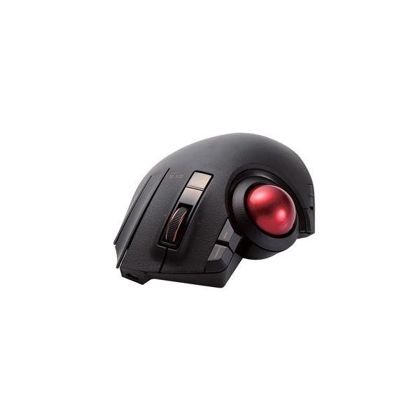 エレコム トラックボールマウス/親指/8ボタン/チルト機能/有線/無線/Bluetooth/1000万回耐久/ブラック M-XPT1MRBK