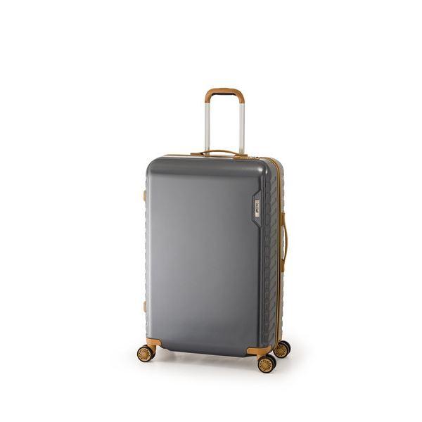 スーツケース/キャリーバッグ 【ガンメタ】 50L ダイヤル式 TSAロック アジア・ラゲージ 『MAX SMART』