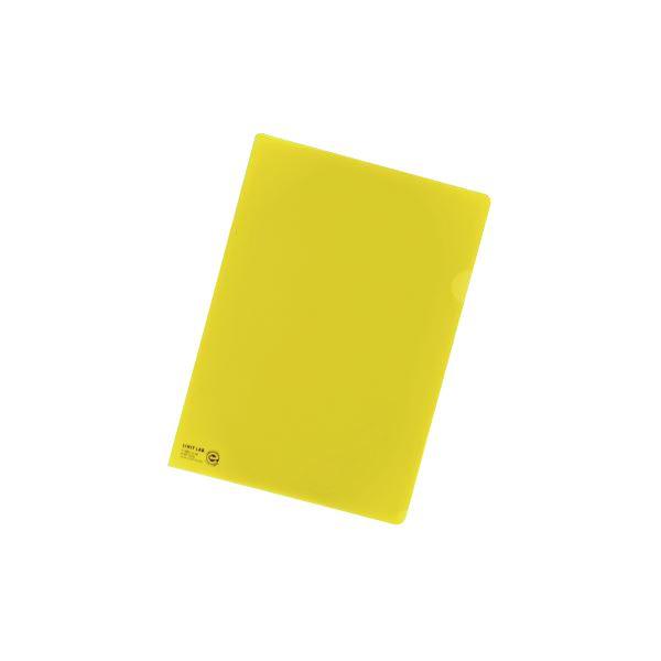 (業務用セット) リヒトラブ カラークリヤーホルダー A4判 F-78EC-5 黄 1枚入 【×50セット】
