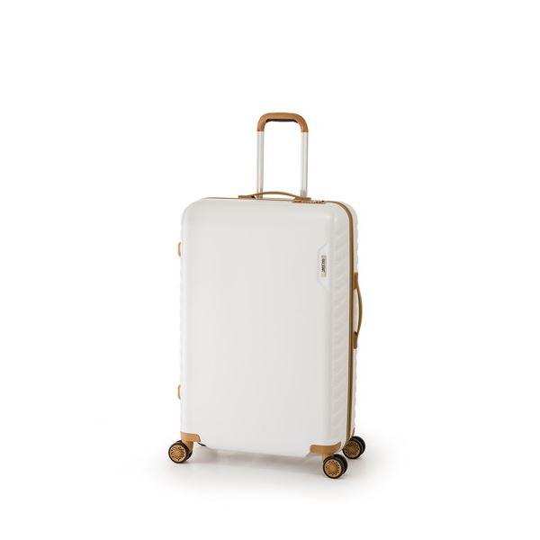 スーツケース/キャリーバッグ 【ホワイト】 50L ダイヤル式 TSAロック アジア・ラゲージ 『MAX SMART』