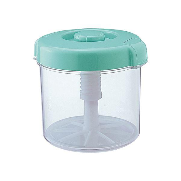 【12セット】 漬物容器/漬物用品 【R-30 グリーン】 新ハイペット 〔キッチン用品 家庭用品 手づくり〕【代引不可】